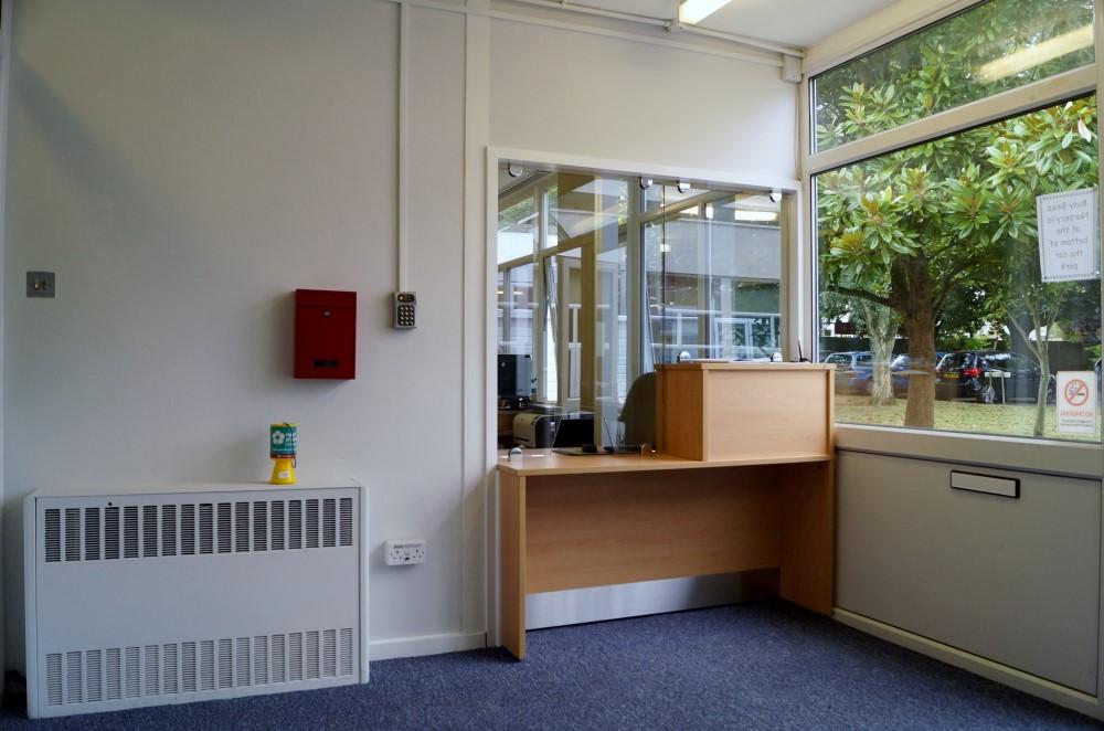 Reception Area-Waller Building Services