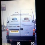 Criminals Using Old Waller Services Van