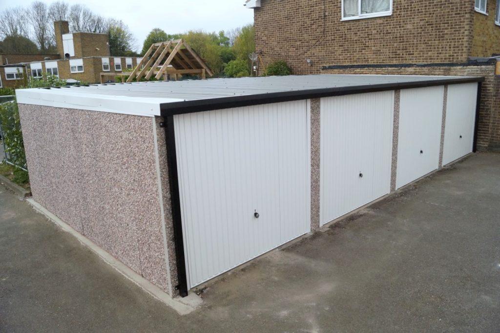 Garage Block Installation