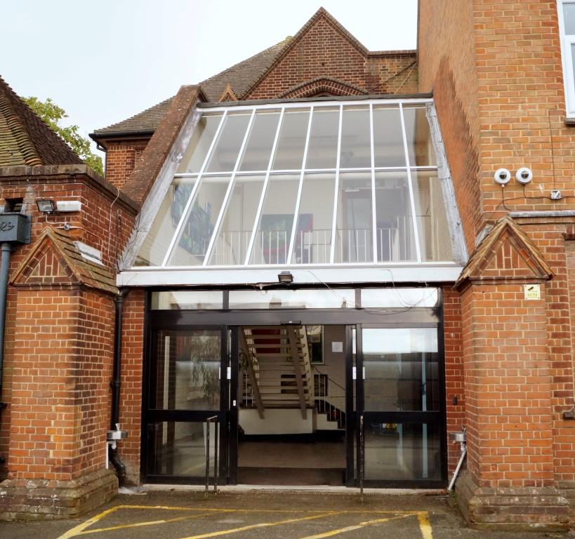 School Glass Roof Replacement Waller Glazing Kent