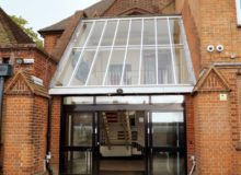 School Glass Roof Replacement