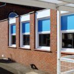 Primary School Kitchen Window Installation