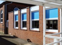 Primary School Kitchen Window Installation