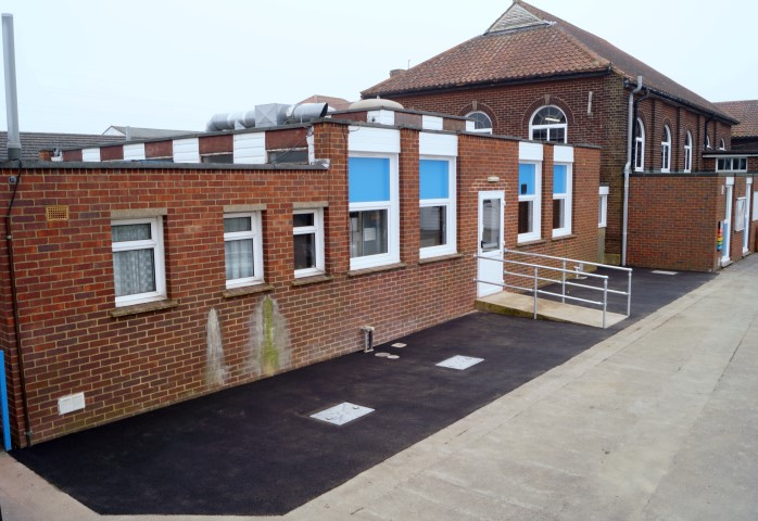 School Playground Groundworks
