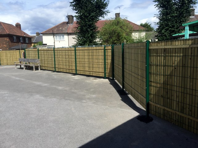 School Security Privacy Fencing