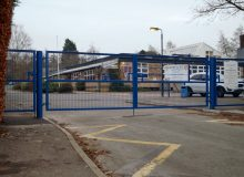 School's New Entrance Gates
