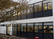 Secondary School Aluminium Window Installation