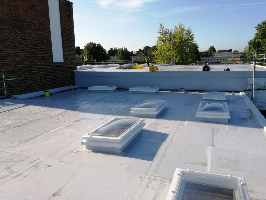 Re-roofing Academy Trust's Head Offices
