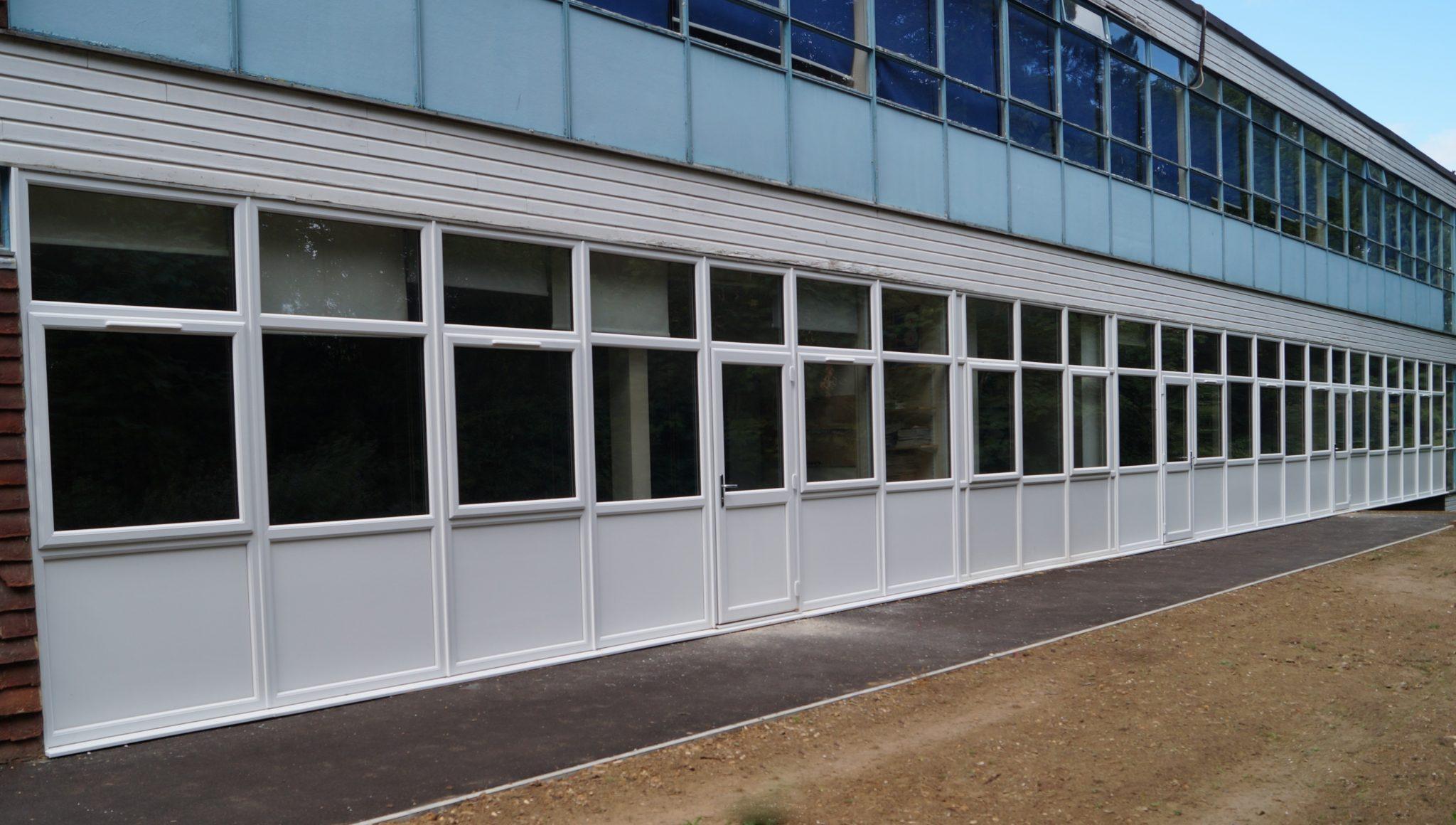 Girl's Grammar School Window Replacement