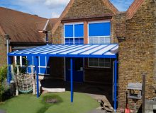 Primary School Canopy Installation