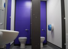 Colourful School Toilet Refurbishment