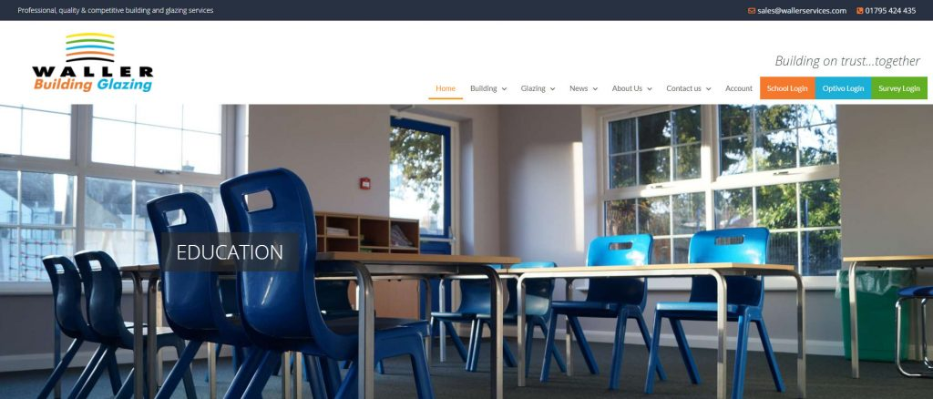 New Waller Associates Web Site Launched