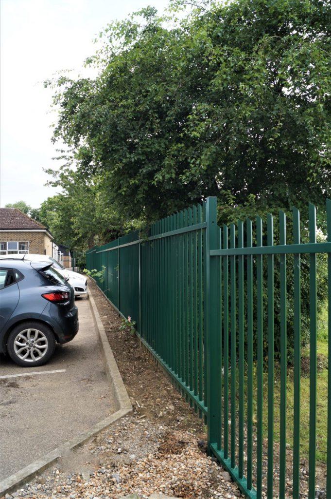 School Car Park Fencing